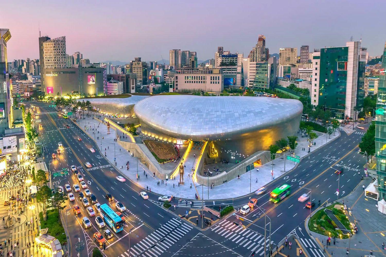 Mua sắm thả ga tại Dongdaemun