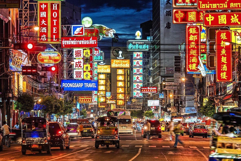 Khám phá khu phố Chinatown Bangkok