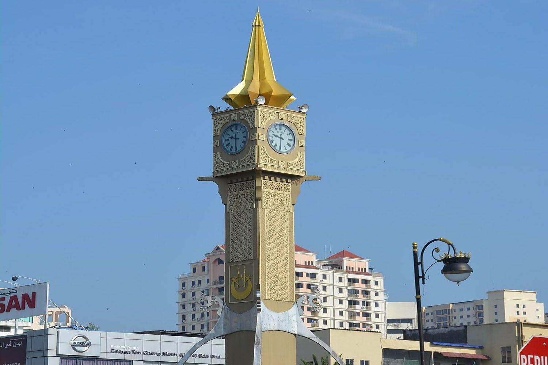 Tháp đồng hồ Royal Jetty tại Kota Bharu, Kelantan