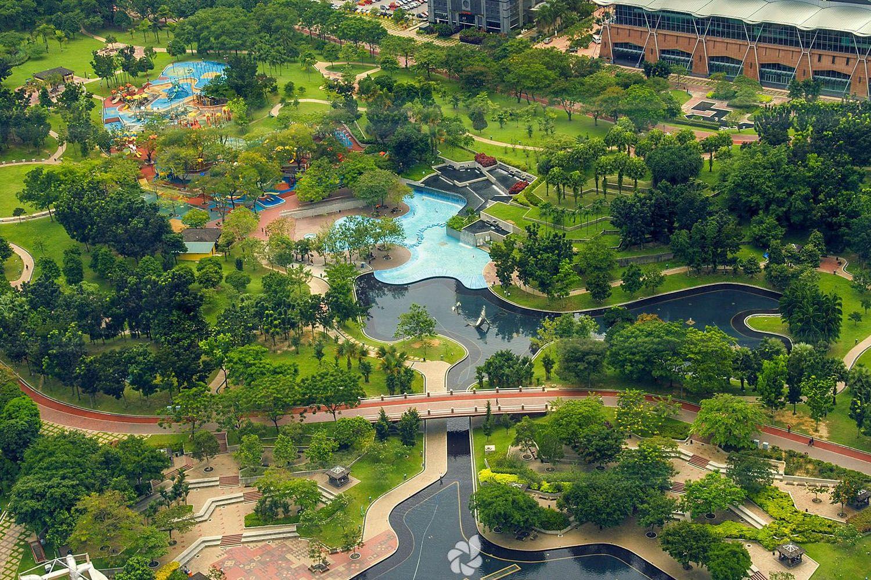 Khám phá công viên KLCC- Kuala Lumpur City Centre