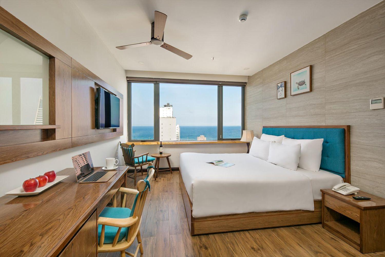 Phòng ốc hướng biển ở khách sạn & Căn hộ White Sand