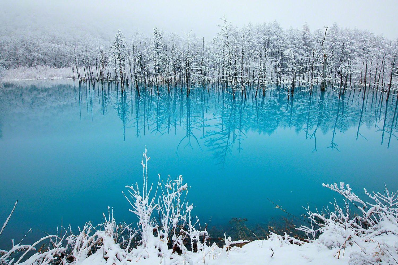 Hồ Xanh Biei, Hokkaido