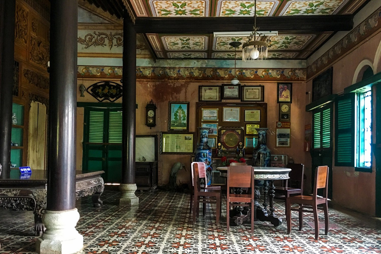 Ngôi nhà cổ đã có tuổi đời gần 150 năm