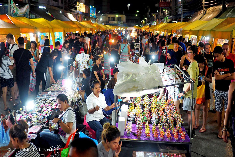 Chợ đêm cuối tuần Krabi