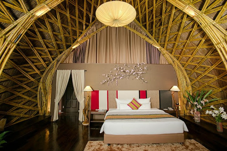 Phòng ngủ ở Serena Resort Kim Bôi