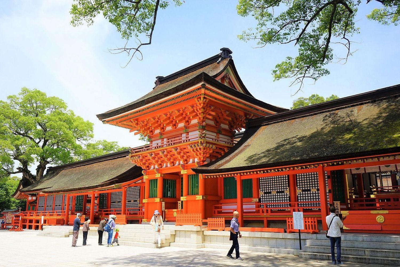 Đền Usa Shrine - Oita