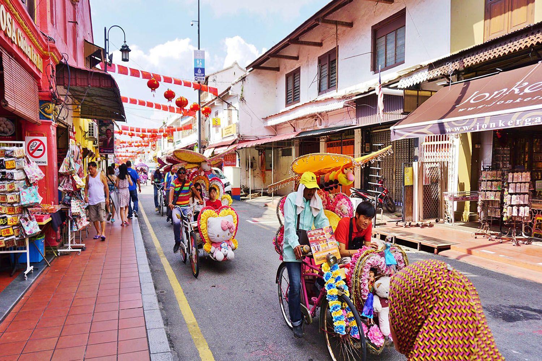 Đạp xe tham quan vòng quanh Melaka