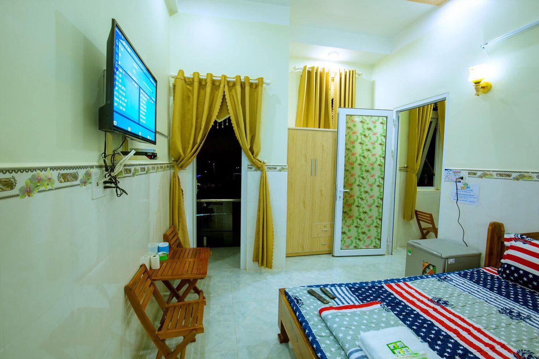 Phòng ngủ Nhà nghỉ Thiên Trí
