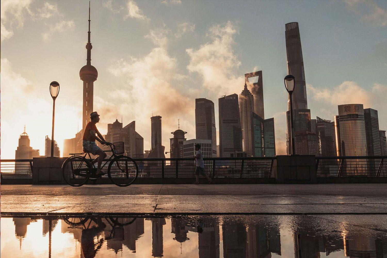 Thượng Hải có sự tương phản tuyệt đẹp