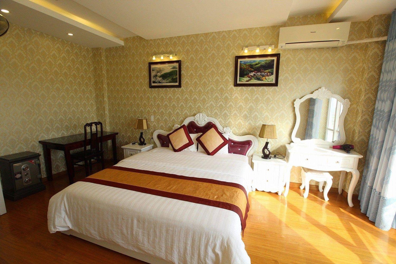 Phòng ngủ Khách sạn Sao Xanh