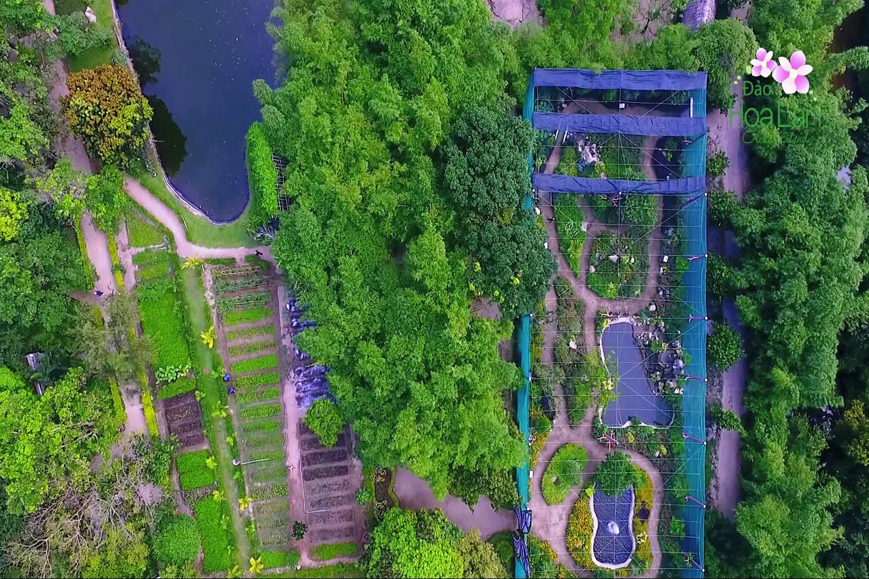 Dạo quang đảo Hoa Lan