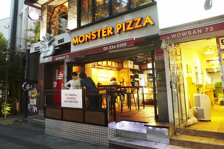 Quán Monster Pizza