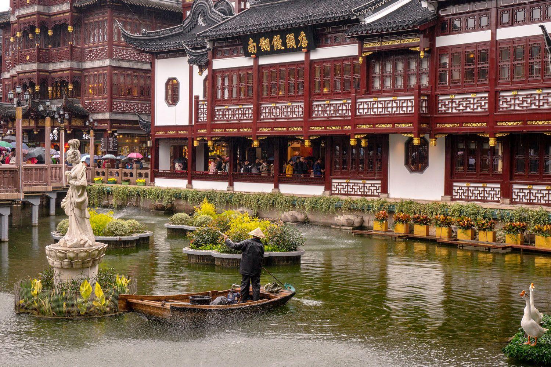 Tham quan văn hóa cổ đại tại Vườn Yu Yuan