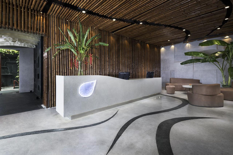 Thiết kế liên quan đến nước được lấy cảm hứng từ dòng suối khoáng nóng