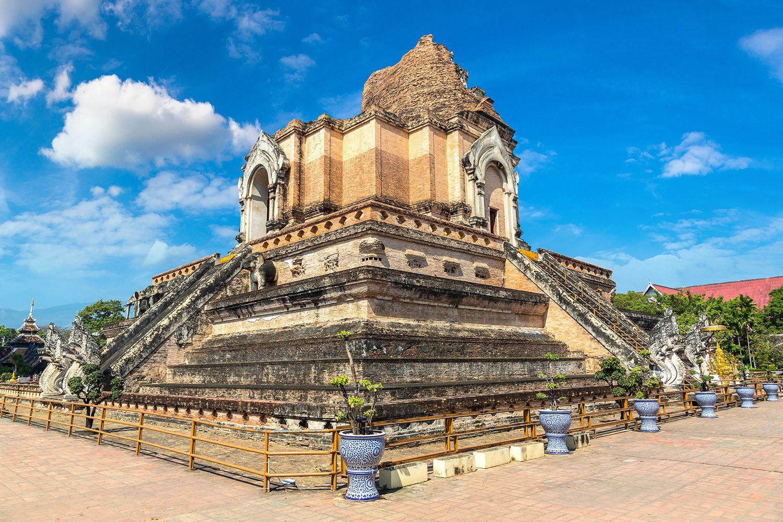 Chedi Luang Temple Chiang Mai