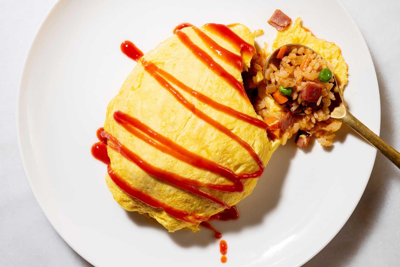 Món trứng tráng nổi tiếng nhất Nhật Bản - Omurice