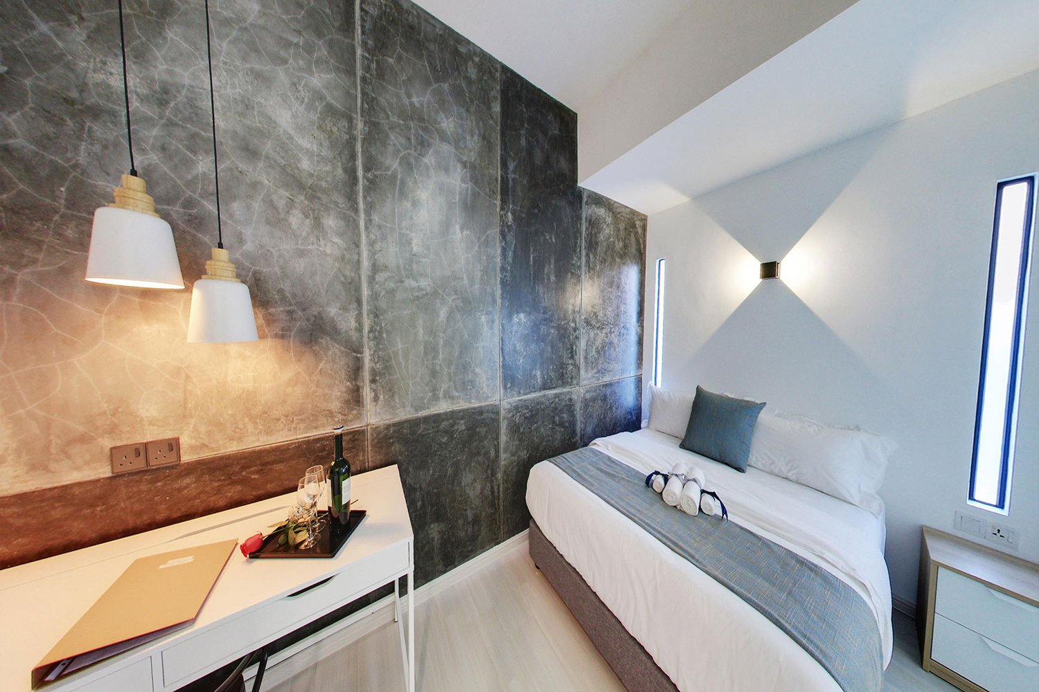 Phòng ốc ở Modern Cave Boutique Stay, Melaka