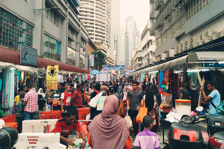 Pasar Malam Jalan Tuanku Abdul Rahman