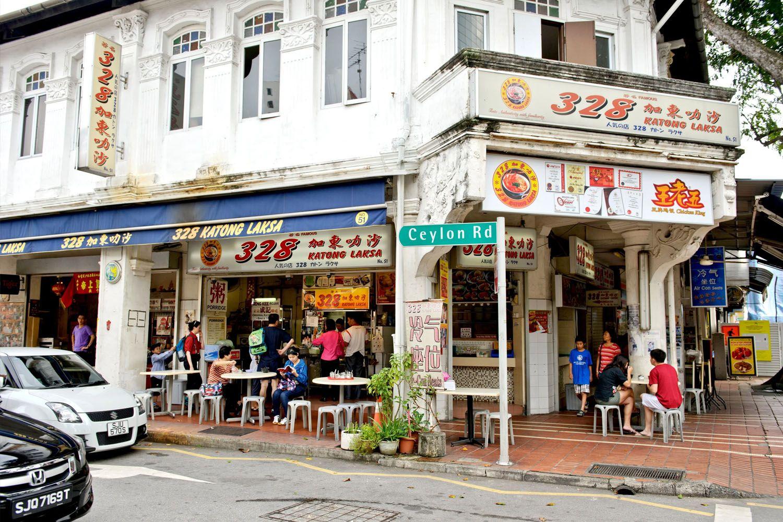 Ăn trưa tại nhà hàng 328 Katong Laksa nổi tiếng