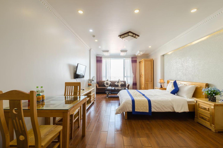 Phòng sinh hoạt Khách sạn Phố Xanh Marina