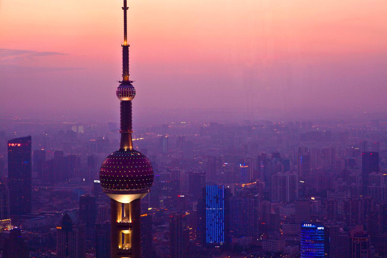 Tháp truyền hình Oriental Pearl