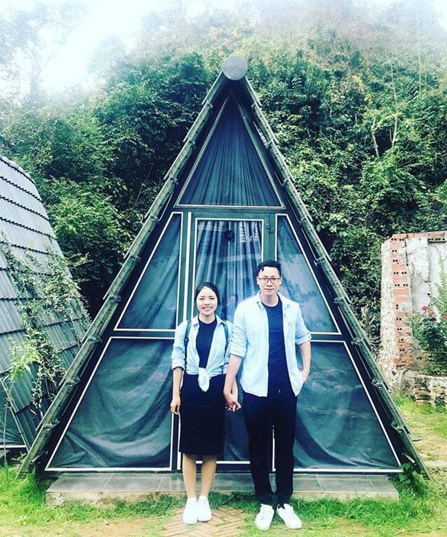 Lều đôi Nhà Ta Homestay