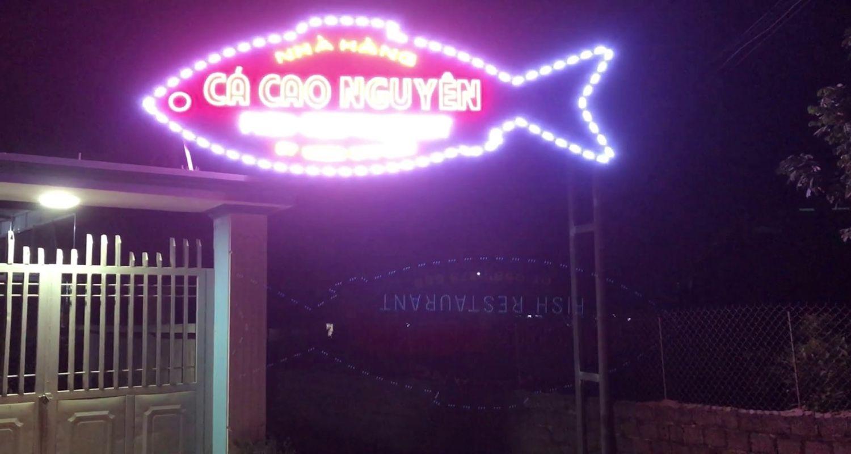 Nhà hàng Cá Cao Nguyên