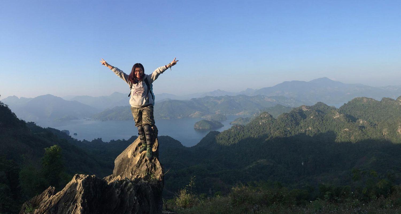 Đỉnh Pha Luông có view cực đẹp
