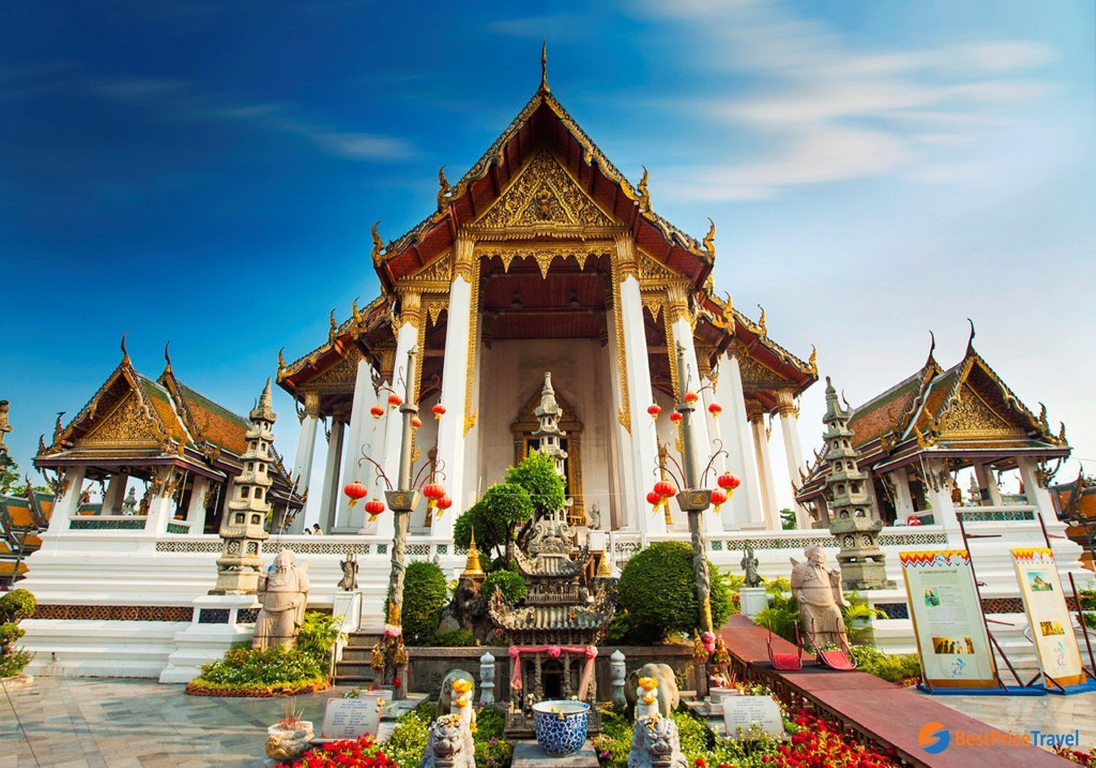 Chùa Wat Suthat ở Bangkok
