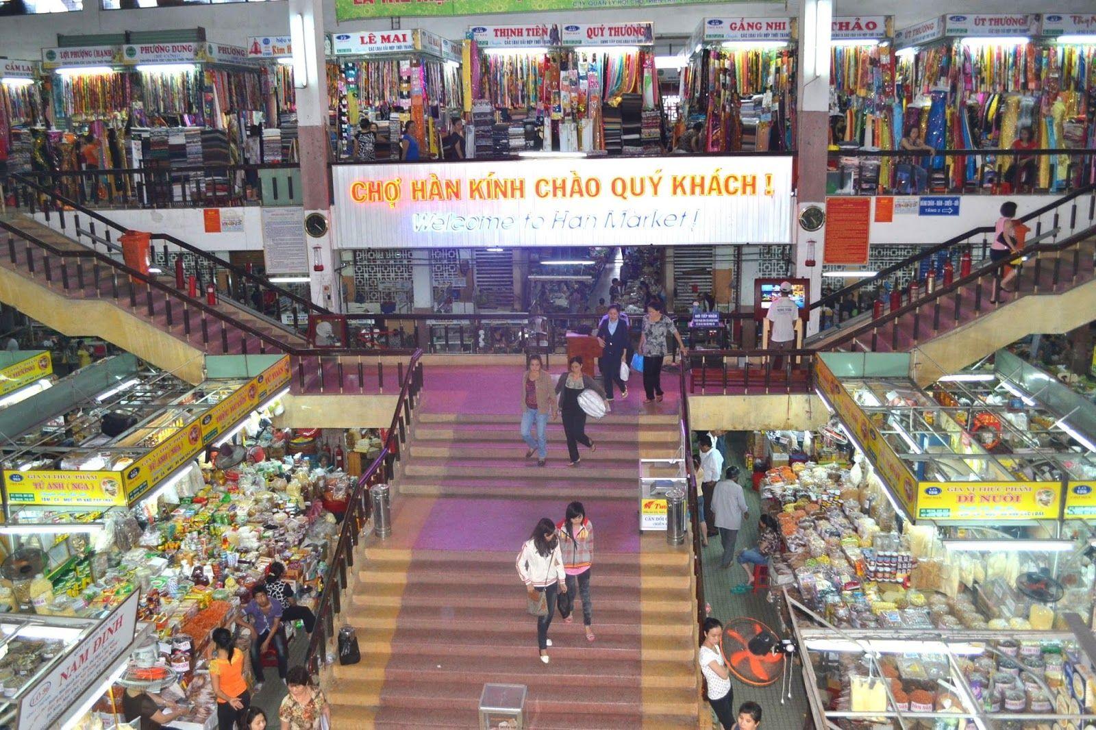 Chợ Hàn gần với Royal Lotus Hotel Danang by H&K Hospitality