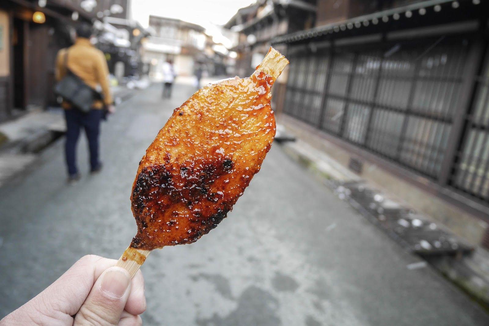 Gohei mochi ở Takayama