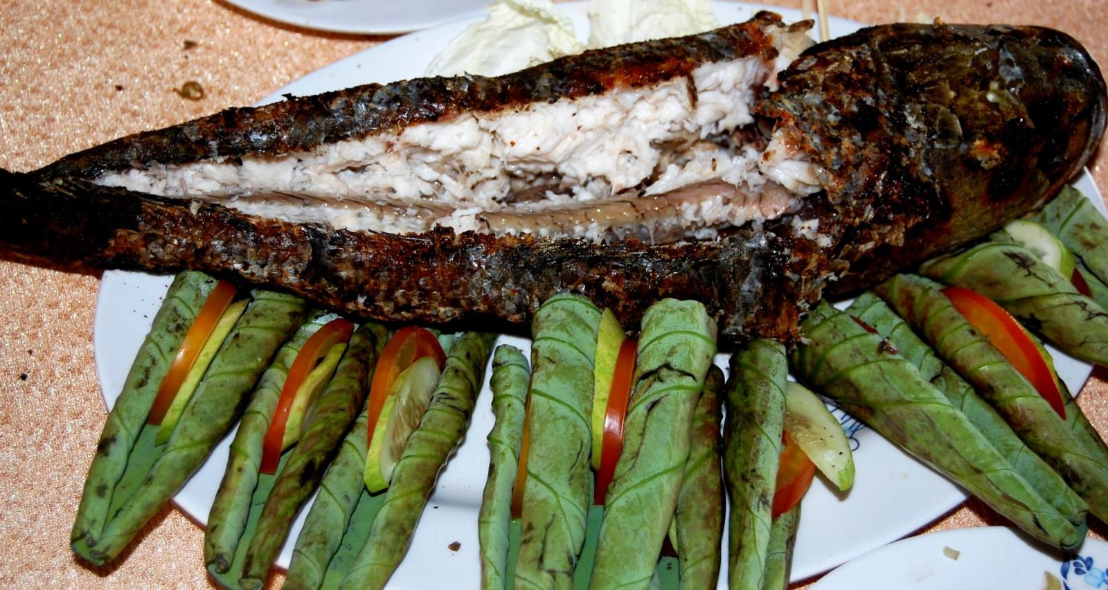 Cá lóc nướng là món ăn dân dã nhưng rất ngon miệng. Ảnh: Sưu tầm