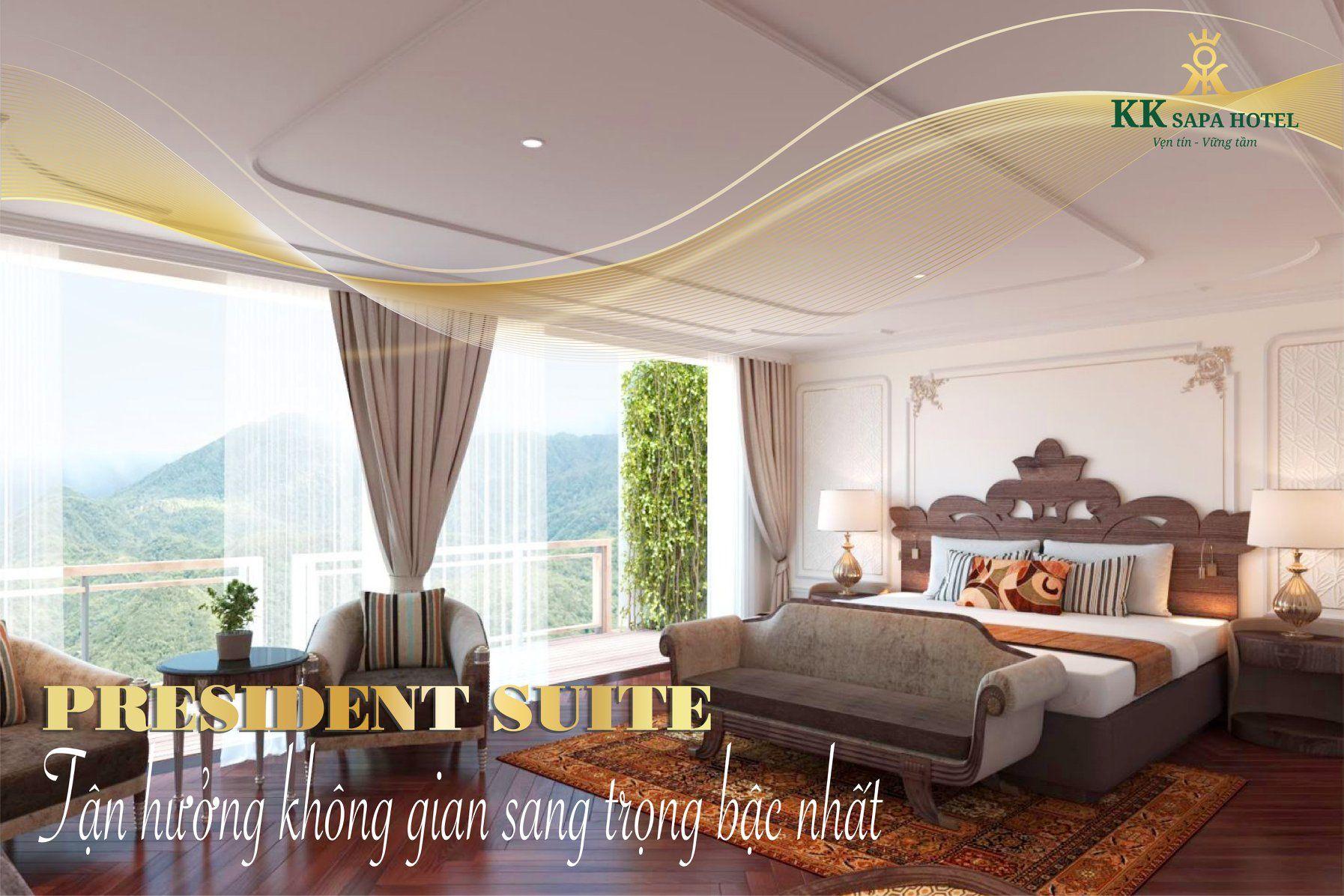 phong ngu president suite kk sapa hotel sapa