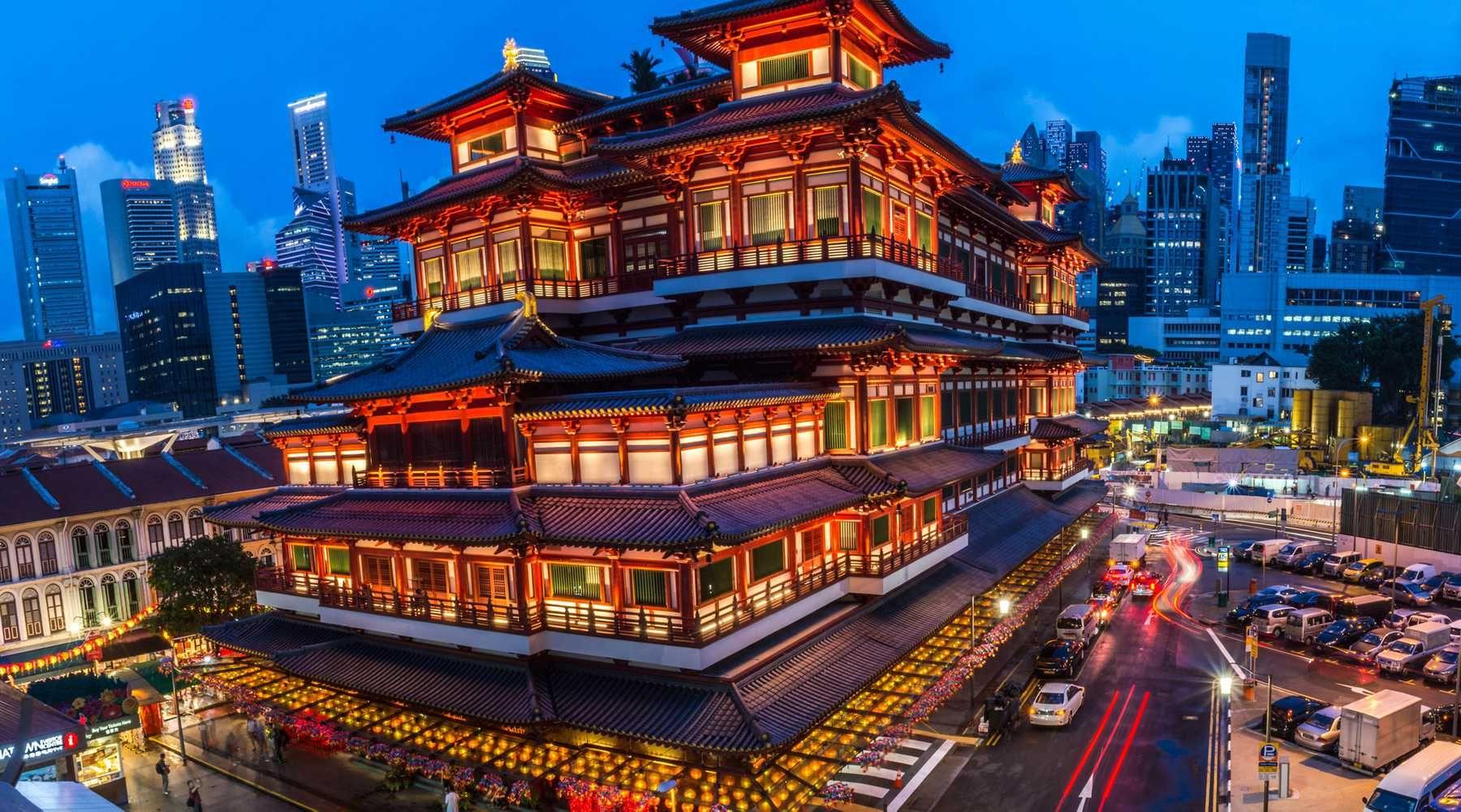 Khu phố Hoa ở Singapore mang đậm nét truyền thống văn hóa đặc sắc