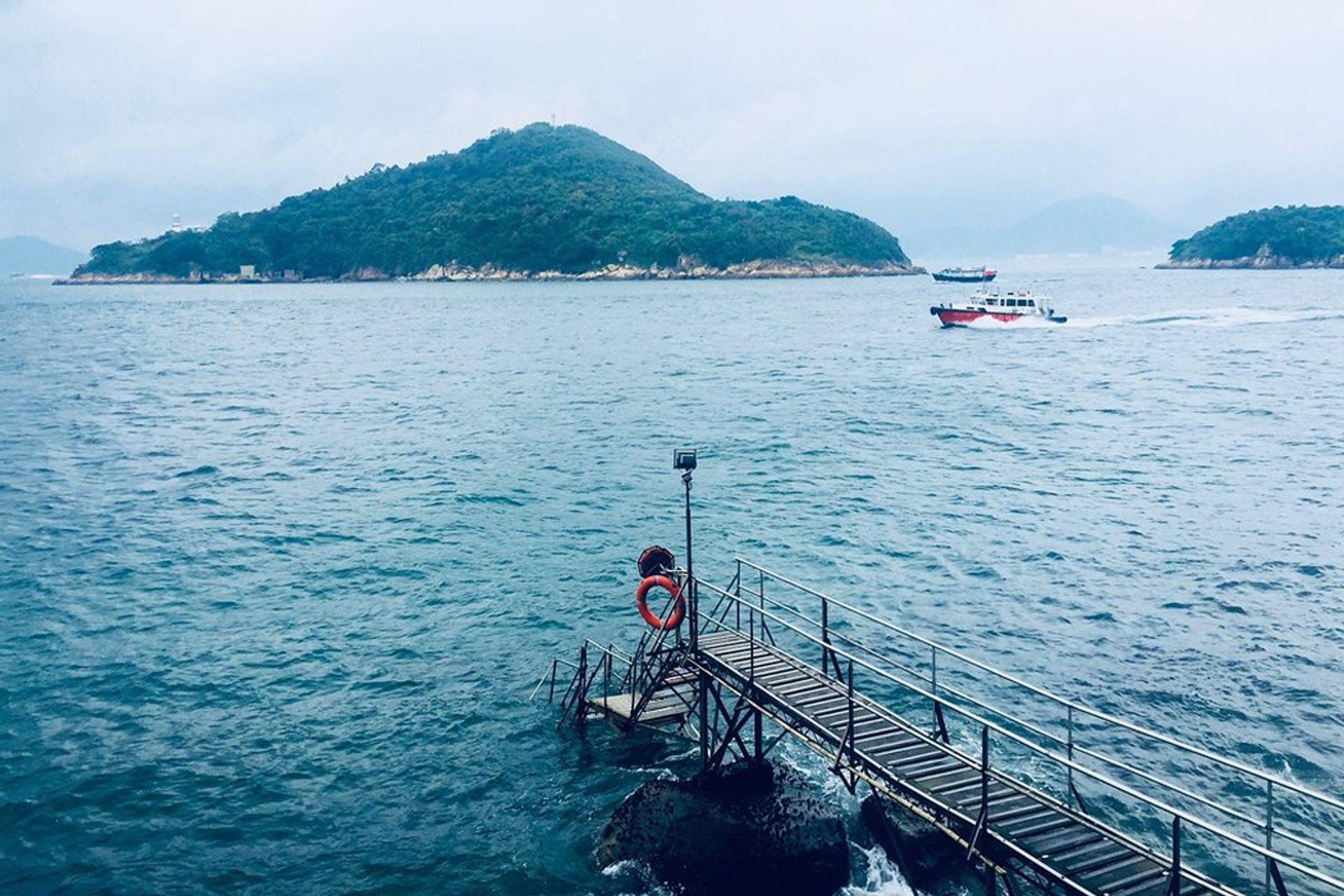 Bến tàu Sai Wan - Instagram Pier