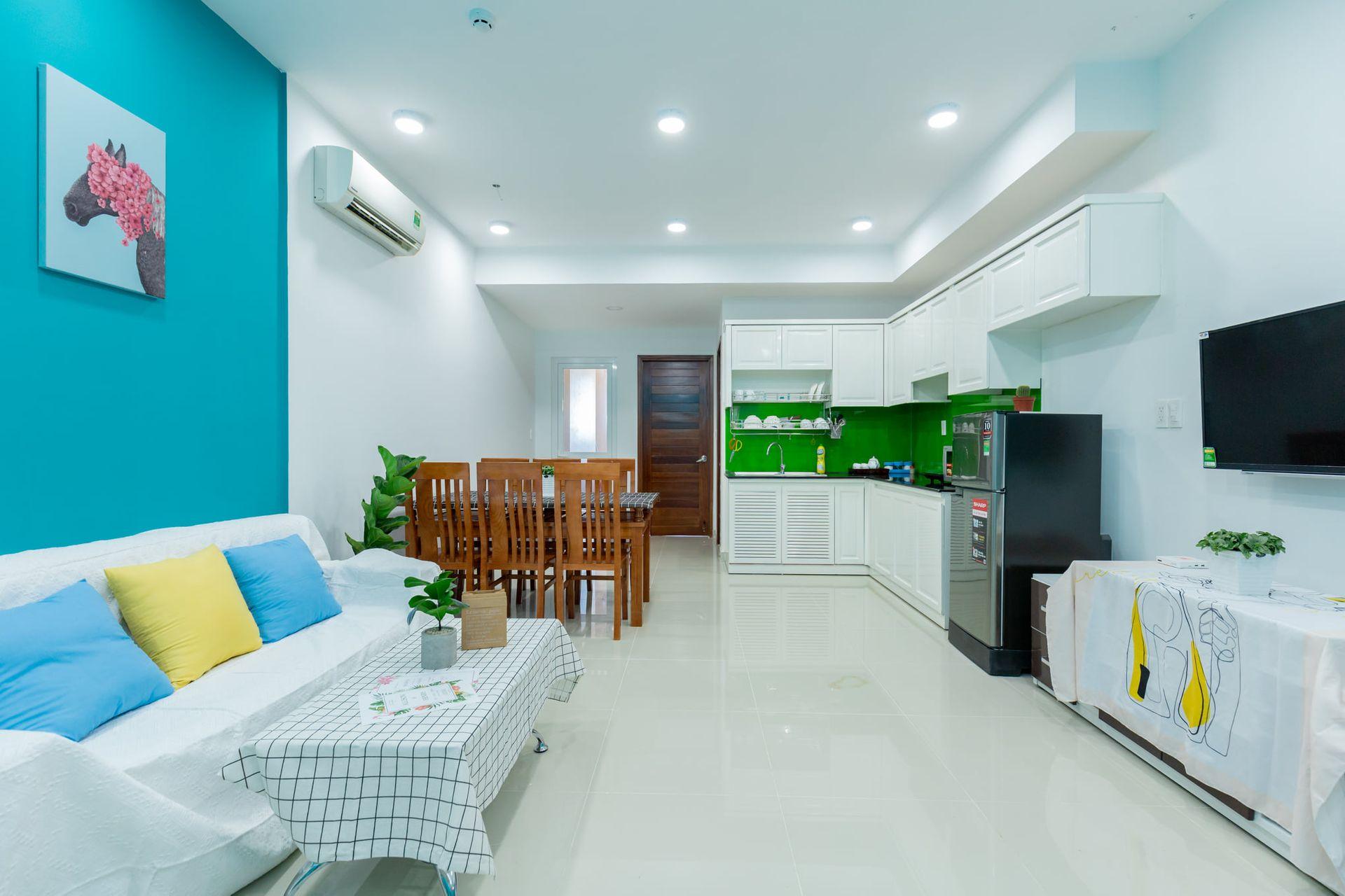 phong bep gold sea 9 b1504 palm villa vung tau
