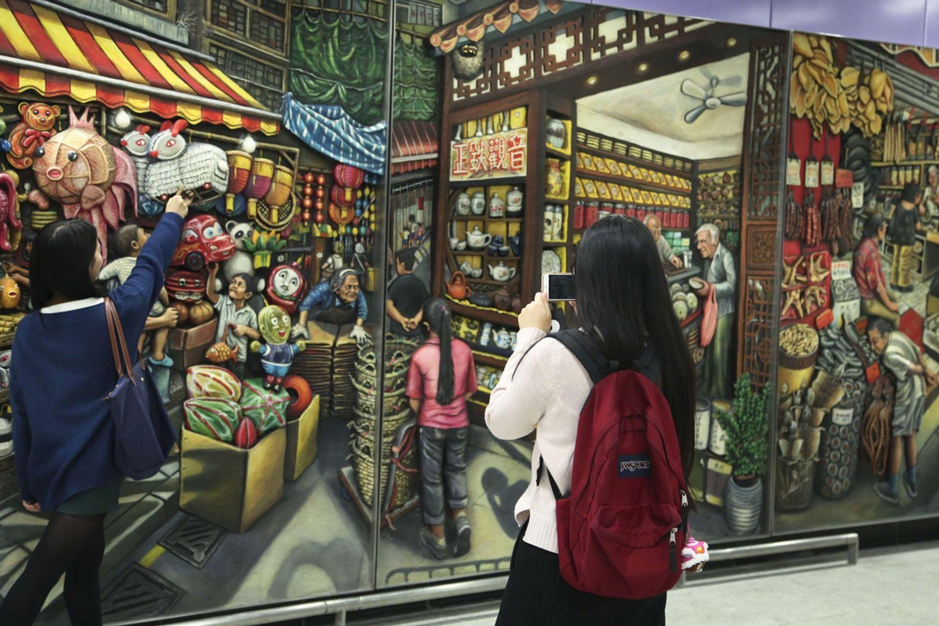 Những góc phố nghệ thuật ở Sai Ying Pun