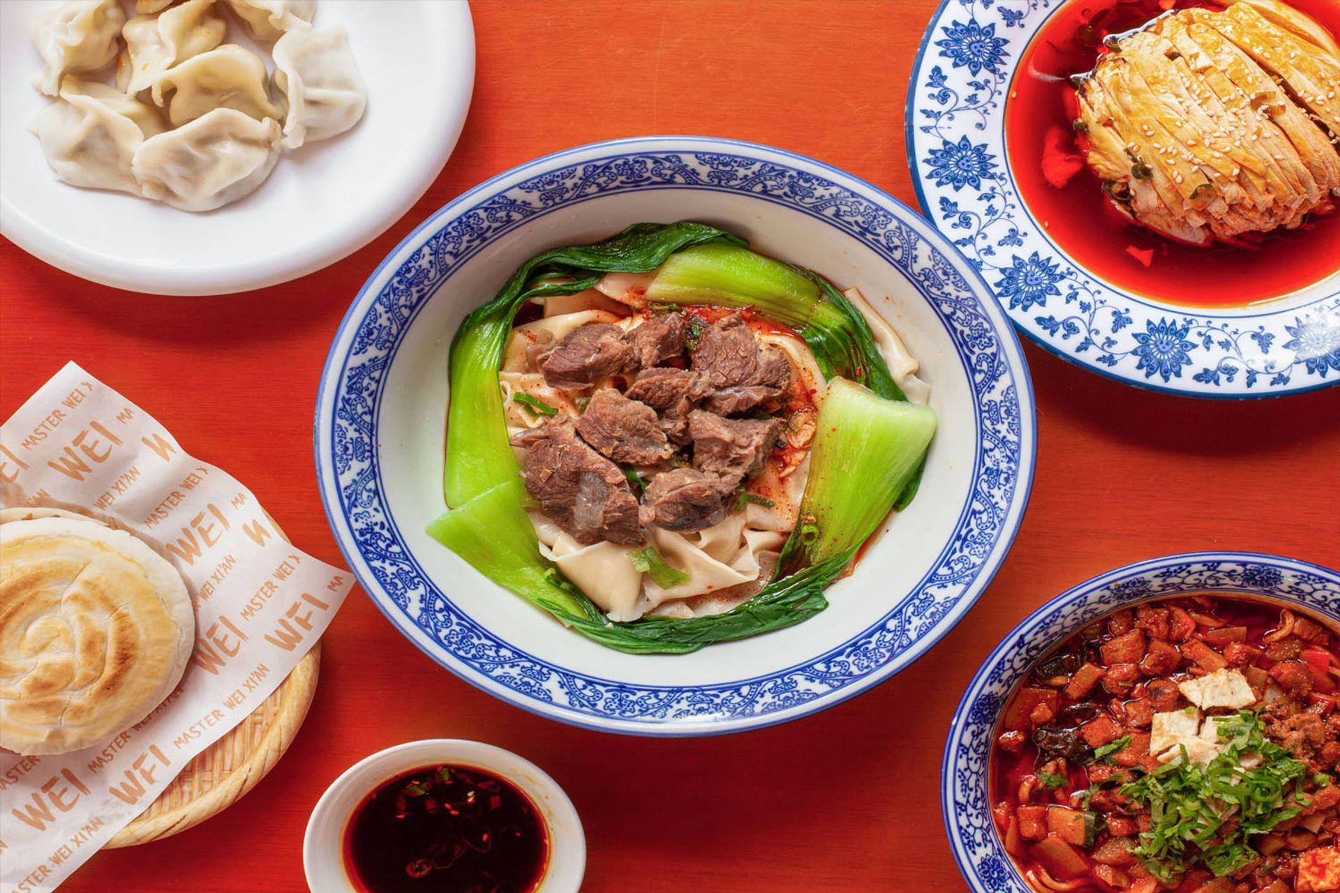 Tây An có nền ẩm thực vô cùng hấp dẫn
