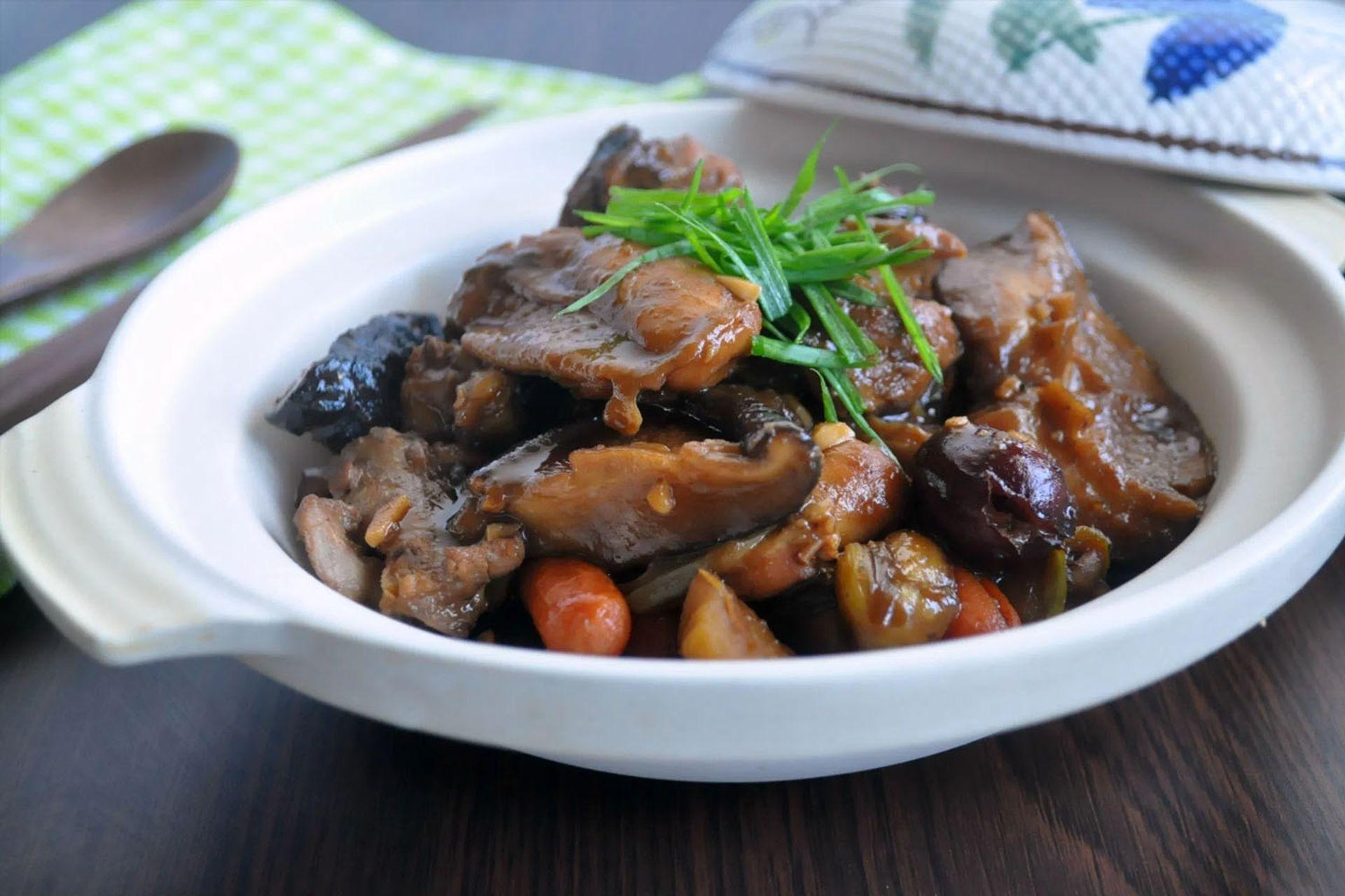 Stewed Chicken with Mushroom