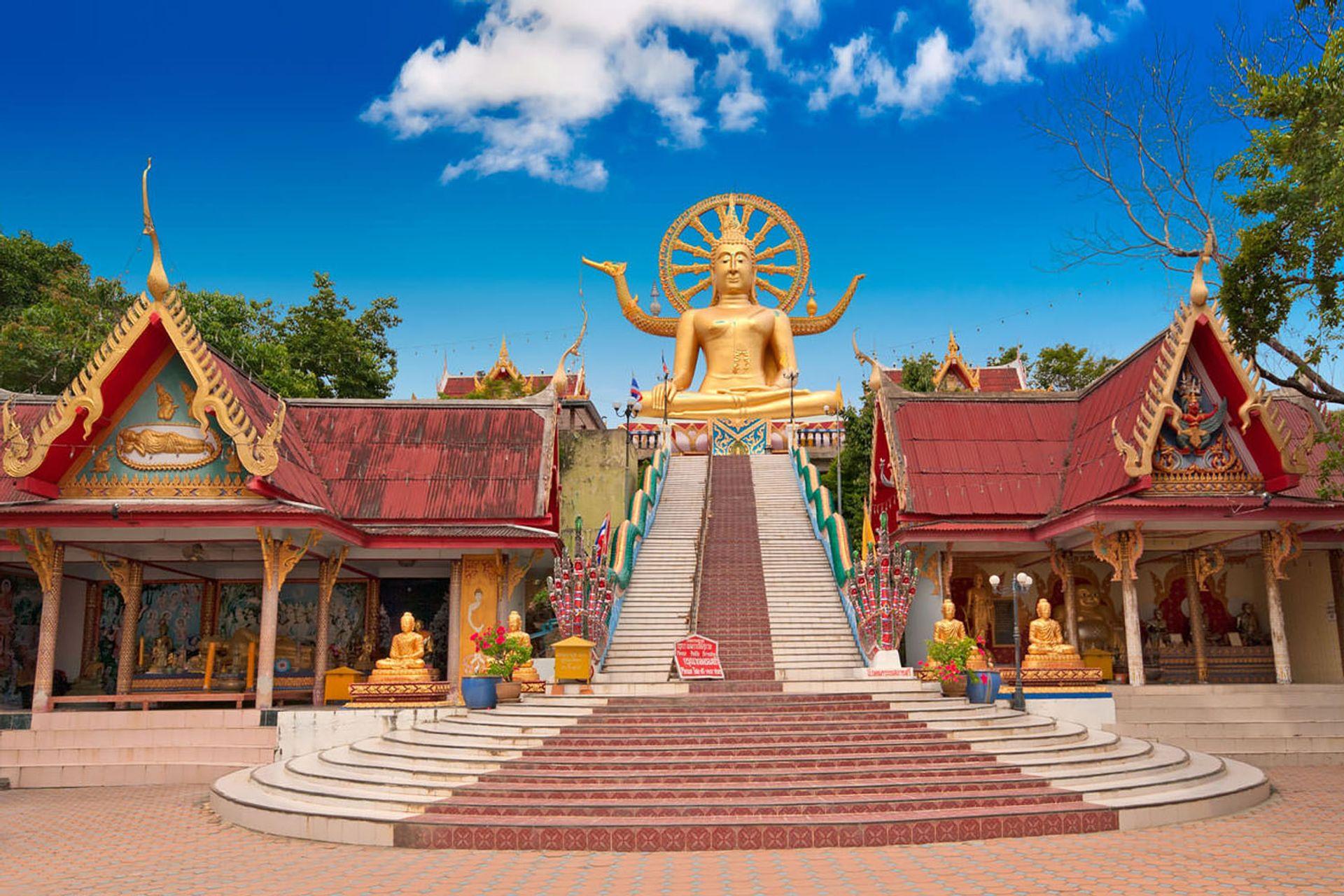 Thăm đền tượng Phật lớn