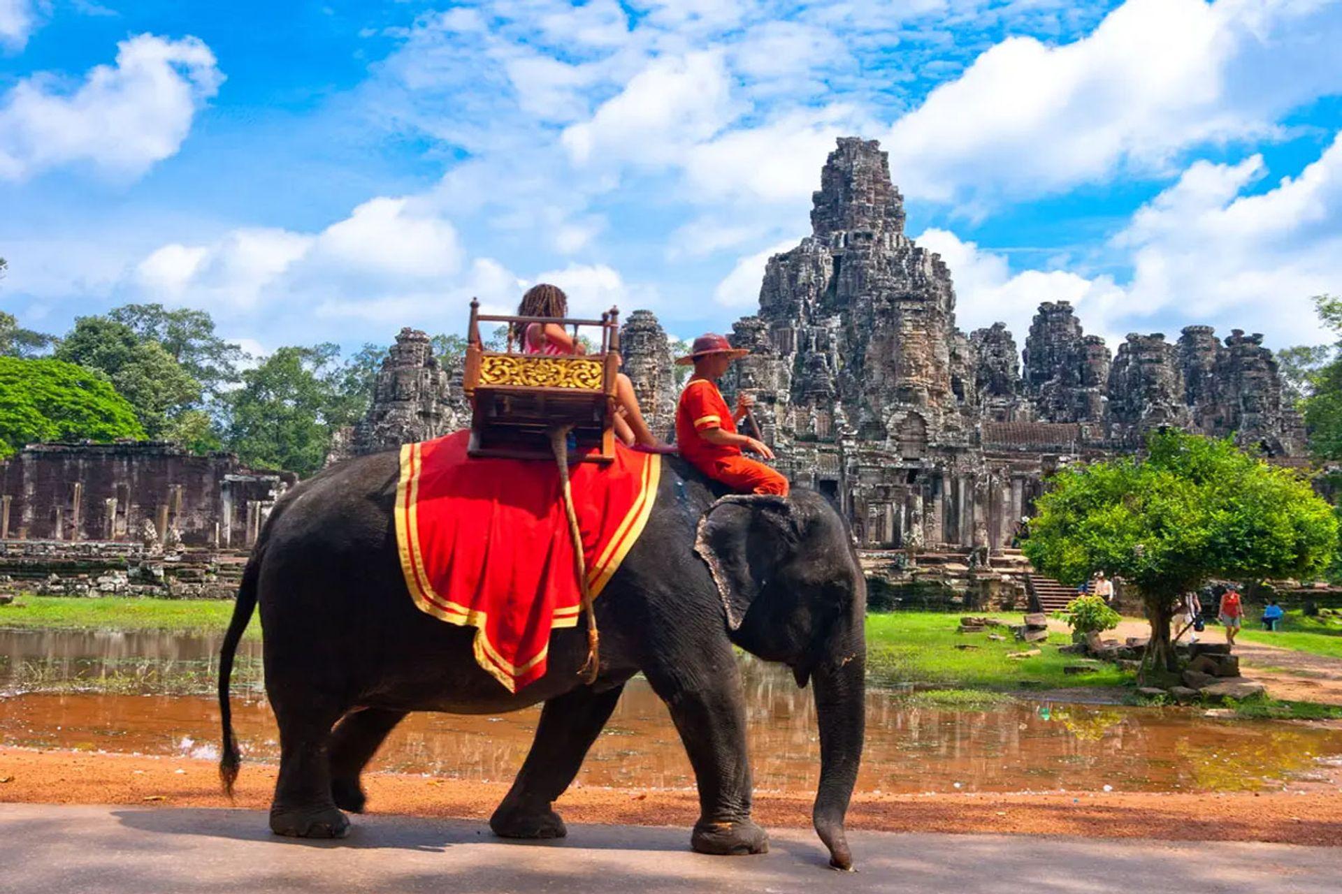 Không nên sử dụng dịch vụ cưỡi voi