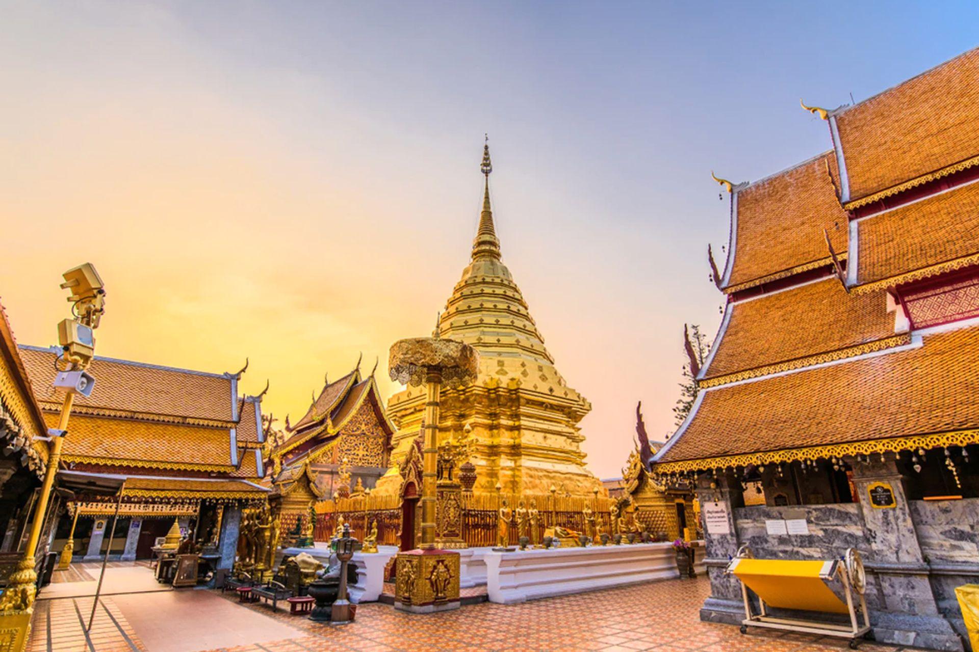 Chùa Wat Phrathat Doi Suthep