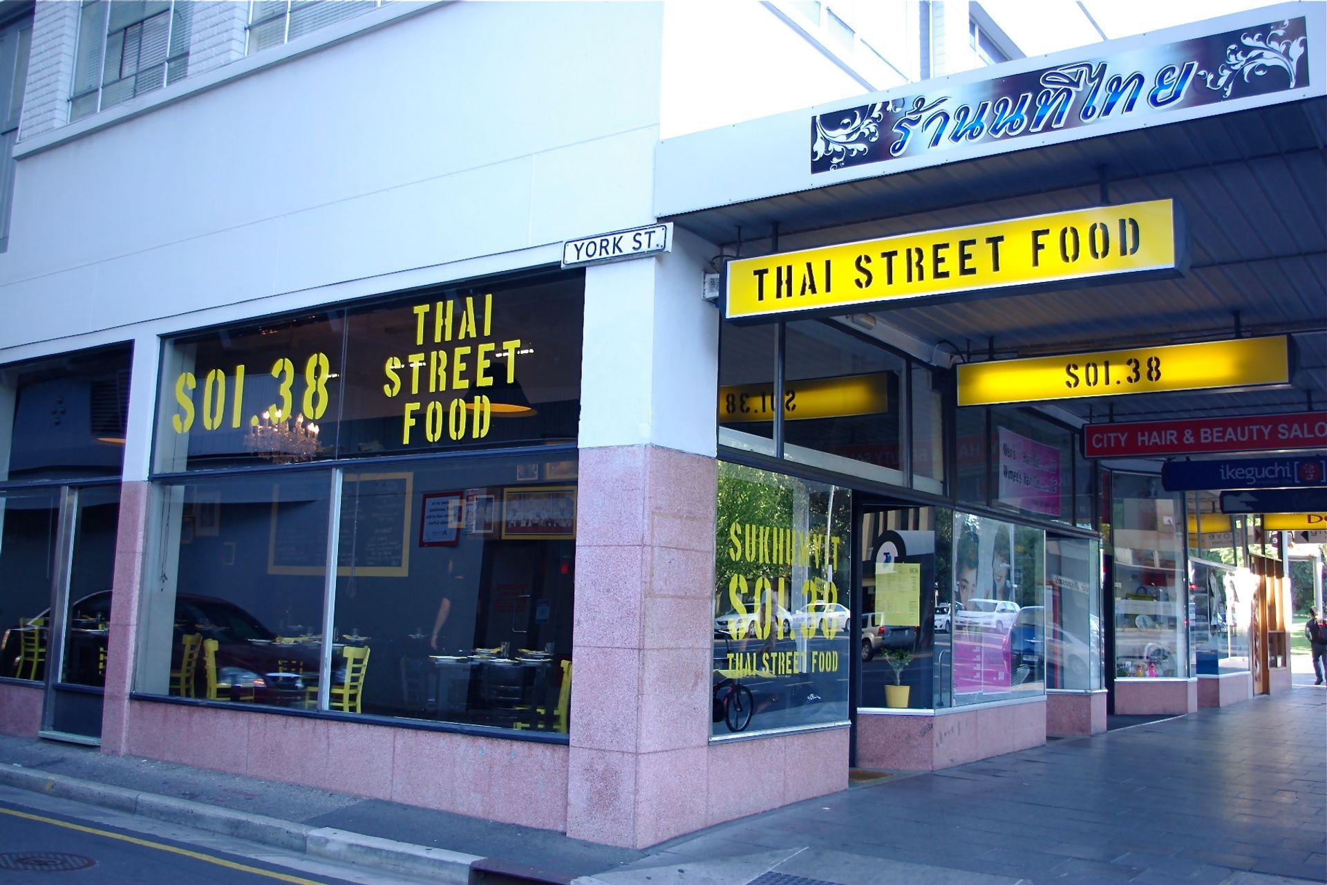 Phố ẩm thực Sukhumvit Soi 38