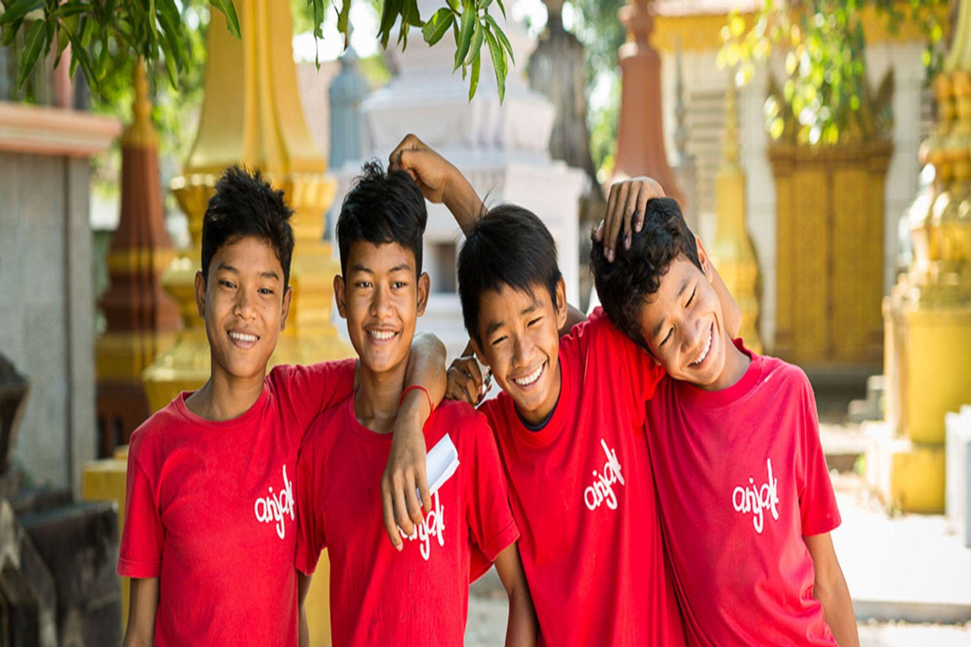 Nụ cười trong giao tiếp của người Campuchia