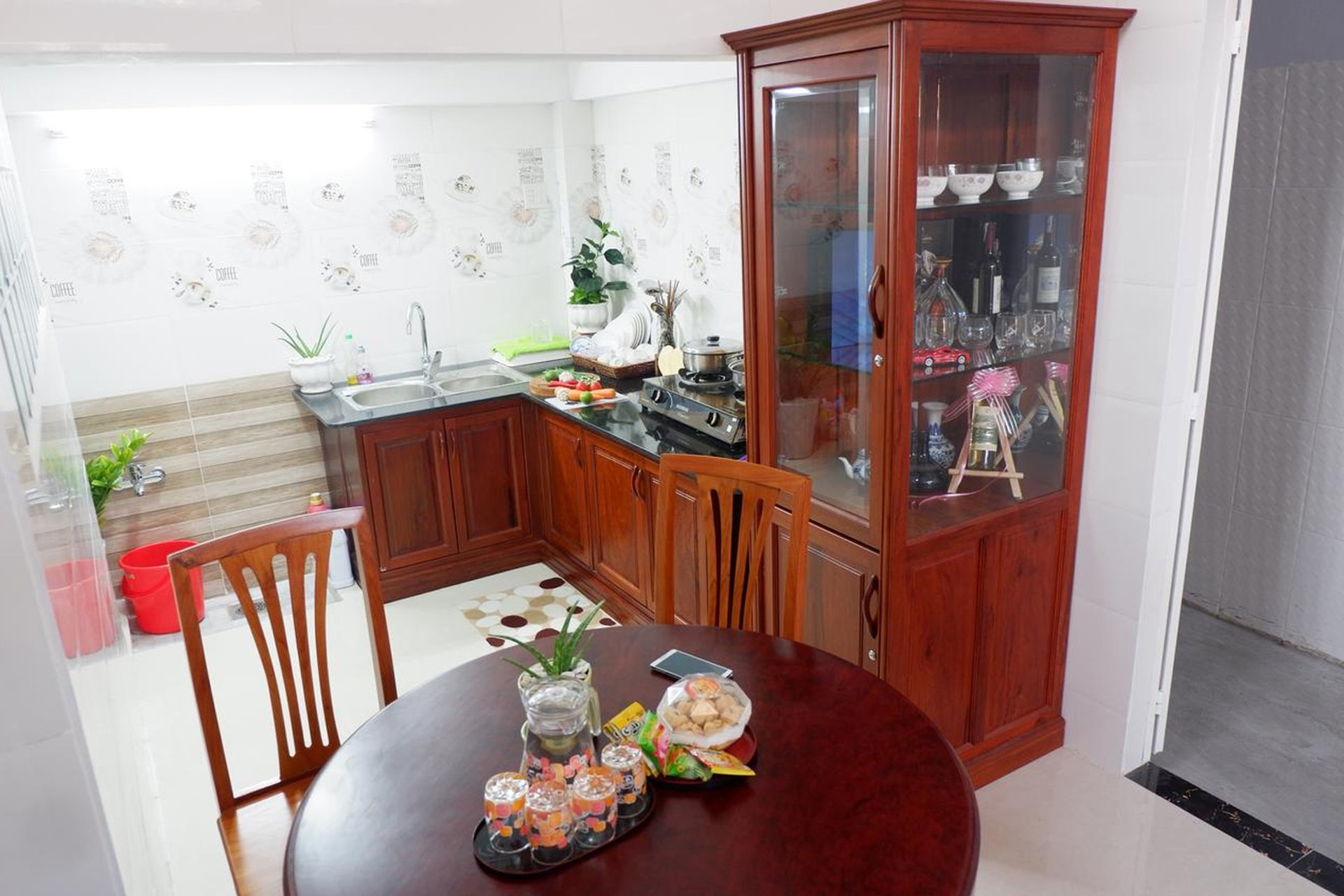Căn bếp của Thịnh's House Homestay