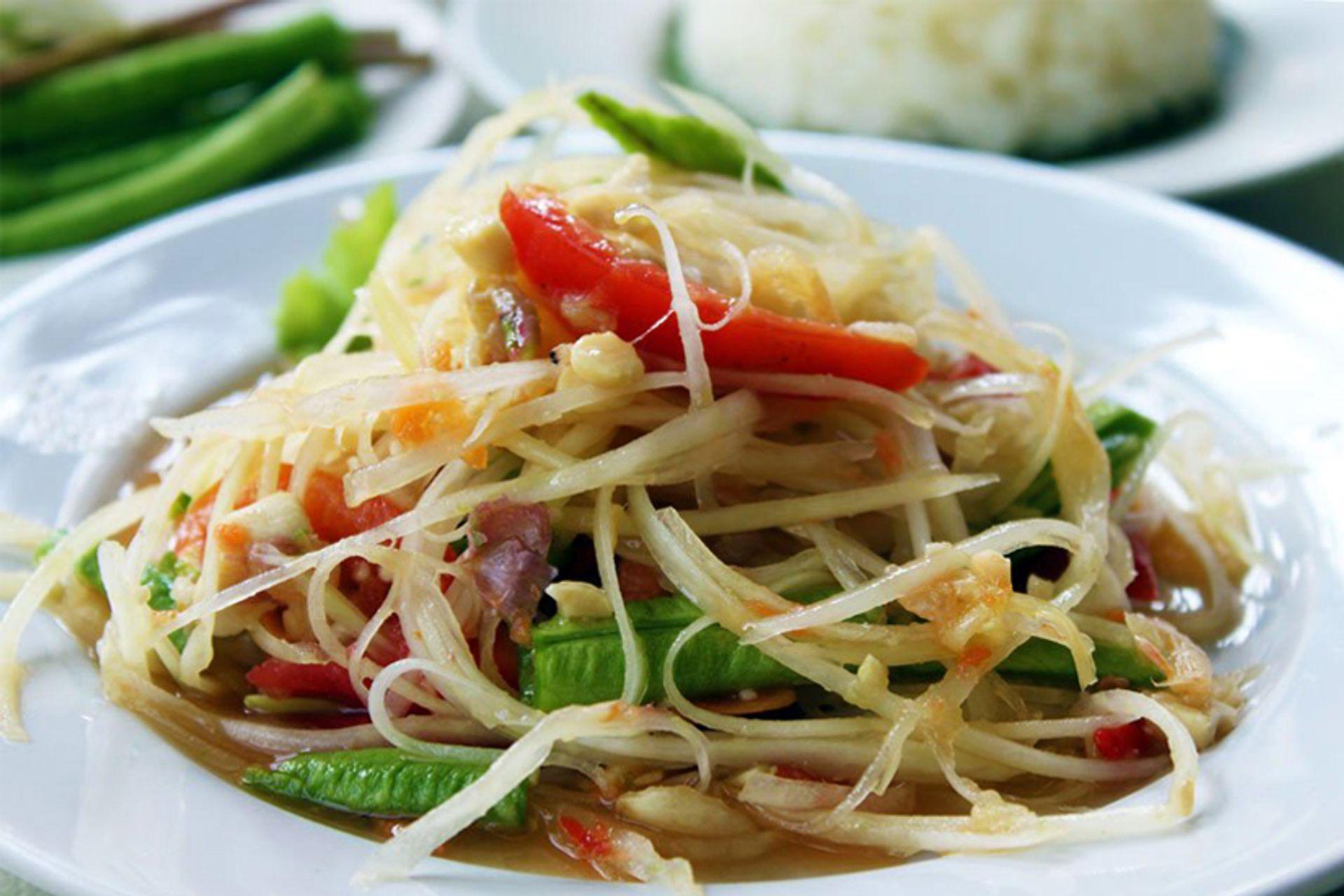 Đặc sản Thái Lan - Som Tam