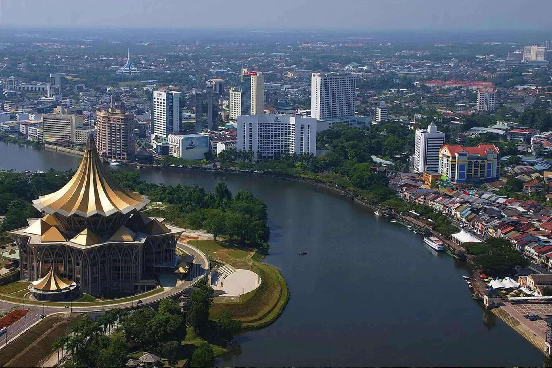 Ngày thứ 12: Đắm mình cảnh sắc thiên nhiên tươi đẹp và những nền văn hoá đặc sắc tại Kuching