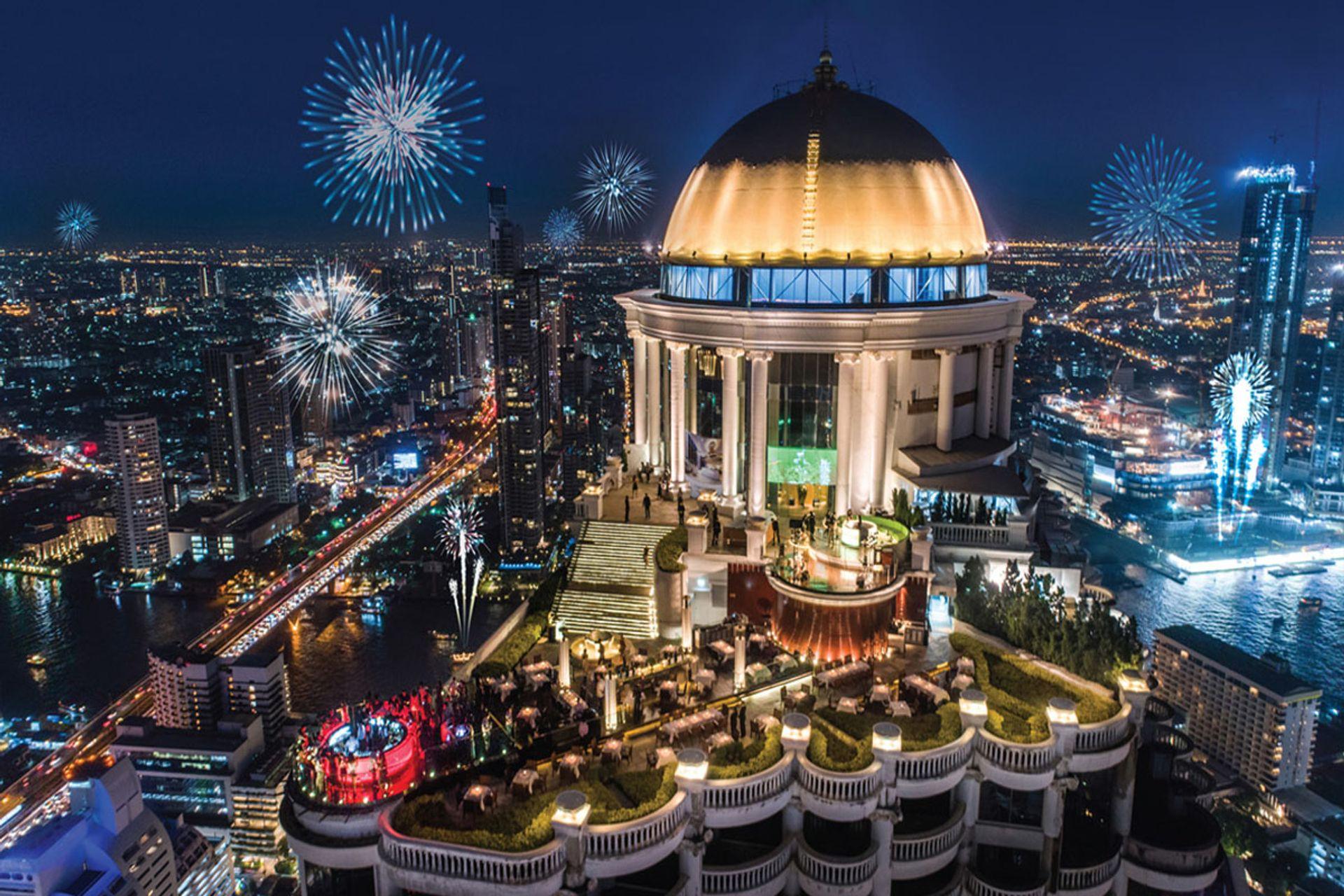 Mezzaluna Bangkok at lebua