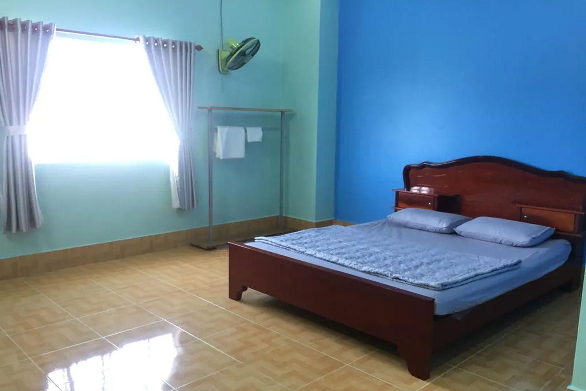 Phòng rộng rãi của Coban Hostel