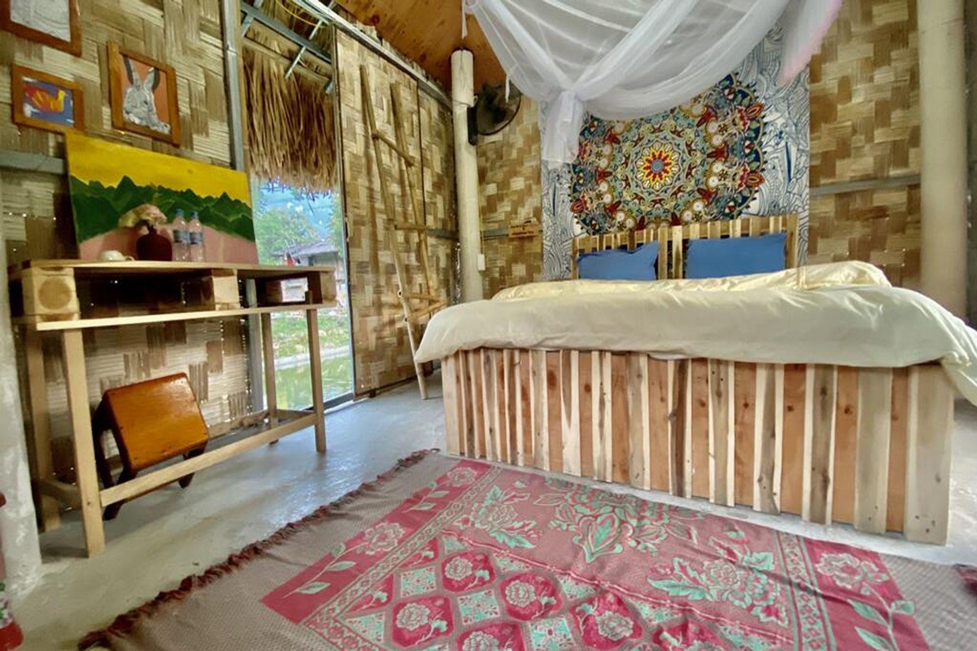 Phòng ngủ Du Già homestay